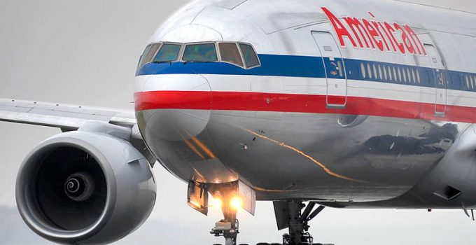 Viejo Boeing 777-200ER de American Airlines